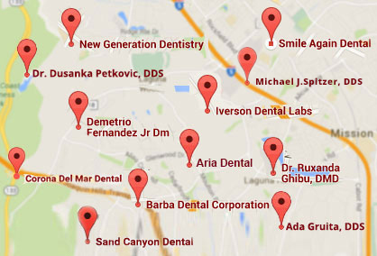 Find a dentist nearest to you