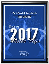 OC Dental Implants Wins Mission Viejo Award